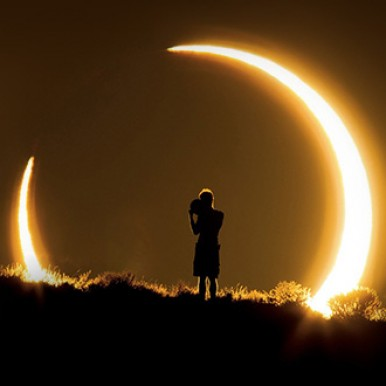 Solar eclipse on November 3