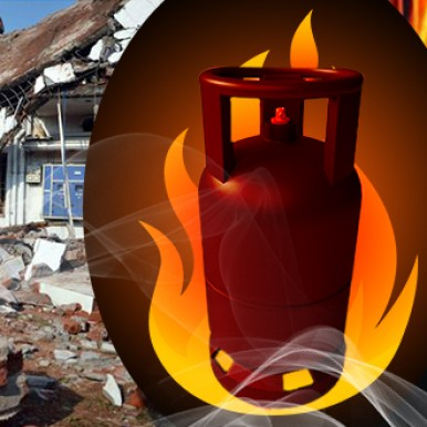 What sparks LPG accidents?
