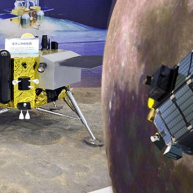 China's lunar probe to land on Moon next month